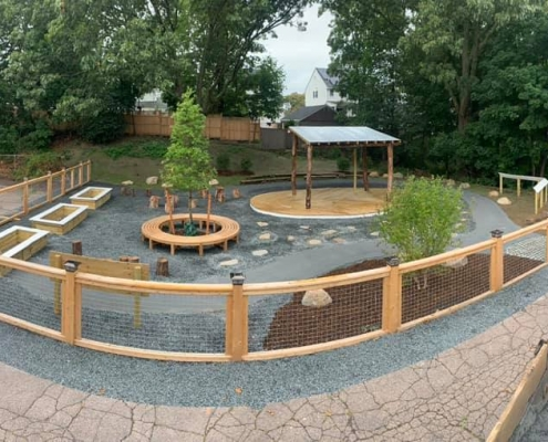 Outdoor Classroom, Quincy MA