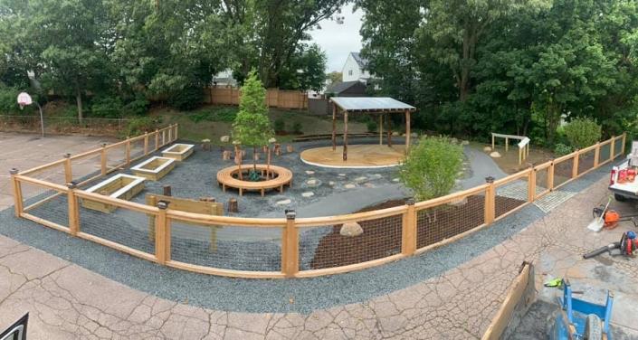 Outdoor Classroom, Quincy MA